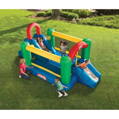 Jump & Double Slide Bouncer