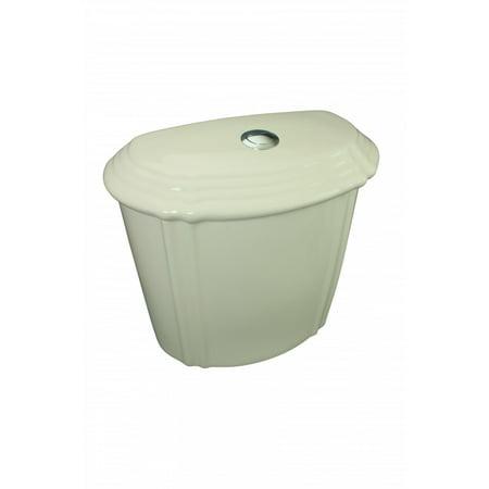 Toilet Part Bone Dual-Flush Top Flush Toilet Tank Only (Bone Dual Flush)