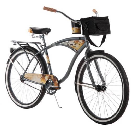 26 Inch Huffy Men's Panama Jack Cruiser Bike, Grey by Huffy