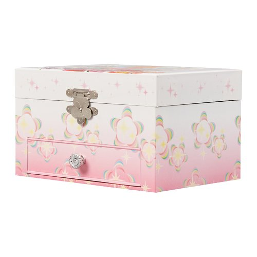 Zoomie Kids Girl's Musical Ballerina Rectangle Jewelry Box