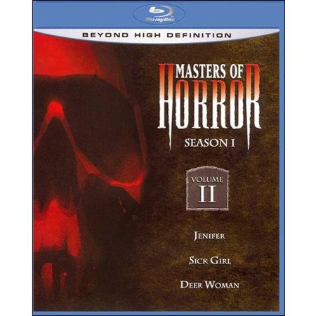 Masters Of Horror: Season I - Volume II, Jenifer / Sick Girl / Deer Woman (Blu-ray) (Widescreen)