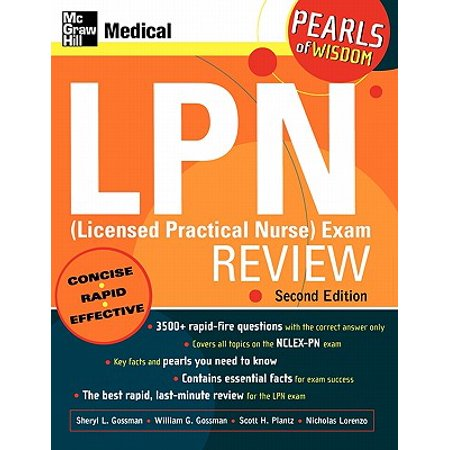 LPN (Licensed Practical Nurse) Exam Review: Pearls of Wisdom, Second