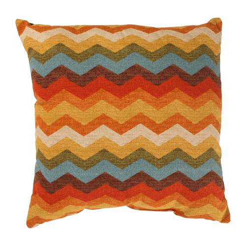 Pillow Perfect Panama Wave Cotton Throw Pillow