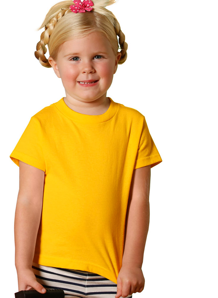 Rabbit Skins 3301T Toddler Jersey T-Shirt - White - 2T