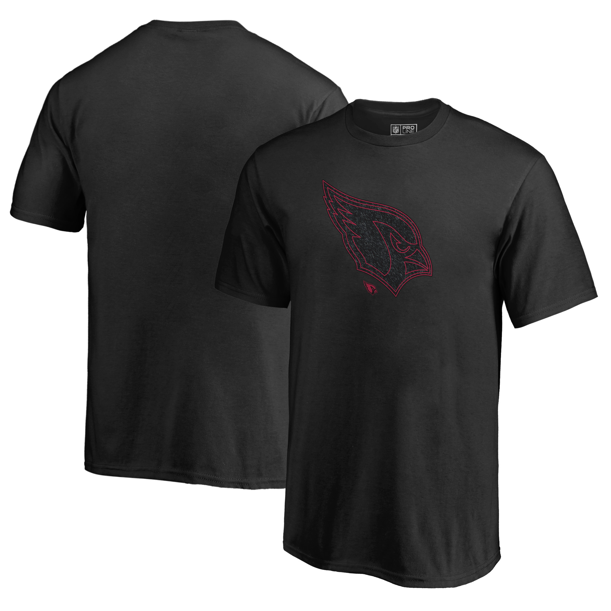 Arizona Cardinals NFL Pro Line by Fanatics Branded Youth Training Camp Hookup T-Shirt - Black