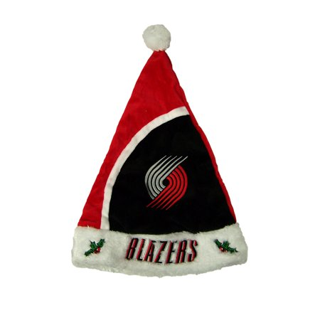 Portland Trail Blazers Official NBA 17 inch Christmas Santa Hat by Forever Collectibles