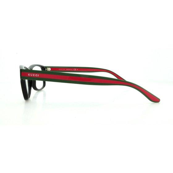 dbc4e58fe13 GUCCI Eyeglasses 1046 051N Black 52MM - Walmart.com