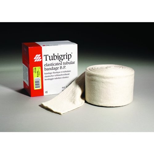Tubigrip Elasticated Tubular Bandage ''Natural, Size D, 10 Yds, 1 Count''