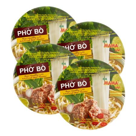 Instant Noodle Soup - (4 Pack) Mama Pho Bo, 2.29 oz