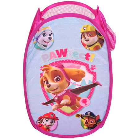 Nickelodeon Paw Patrol Girl Collapsible Storage Pop Up Hamper A Baby Hamper