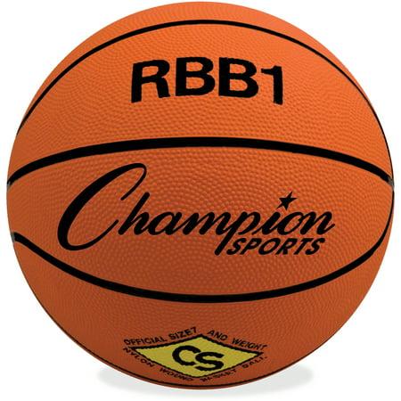 Champion Sport, CSIRBB1, s Pro Rubber Basketball, 1 Each, (2000 Ncaa Basketball Champions)