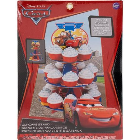 Wilton Cars Treat Stand, 1 Ct