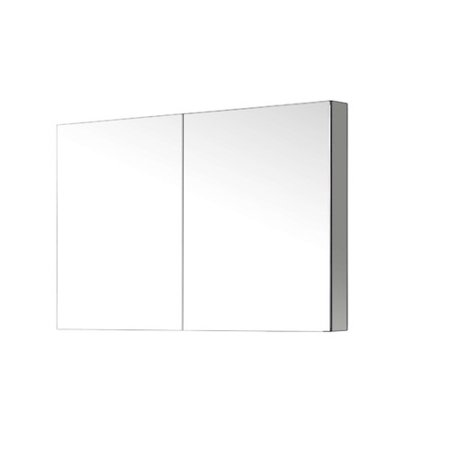 Virtu Usa Confidant 26 X 40 Recessed Or Surface Mount Medicine Cabinet