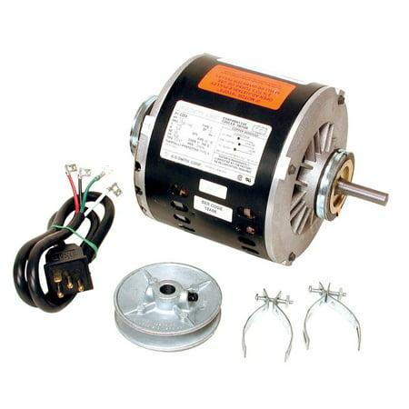 Dial  Metal  Black  Evaporative Cooler Motor Kit (Black Swamp Triangle)