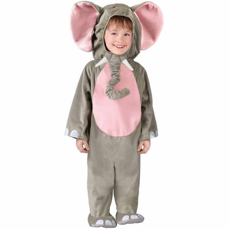 Cuddly Elephant Toddler Kids Halloween Costume size 3T-4T](Elephant Costume Baby)