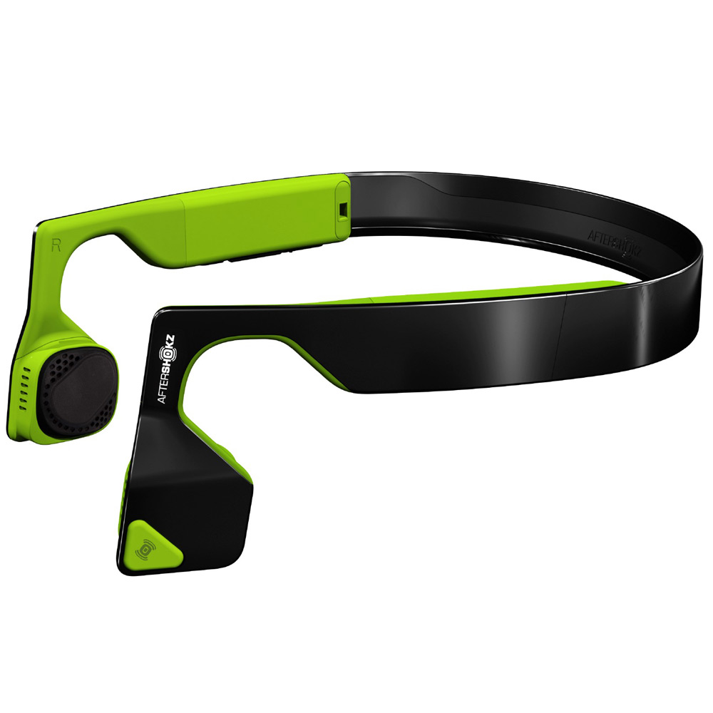 Aftershokz Bluez 2S Wireless Stereo Headphones, Neon Green