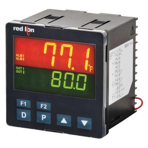 RED LION PXU31AE0 Temperature Controller,SPST NO,4 to 20mA G2014857