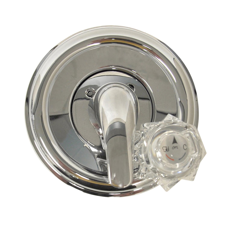 Danco 9D00010004 Brushed Nickel Universal Tub/Shower Trim Kit For Delta