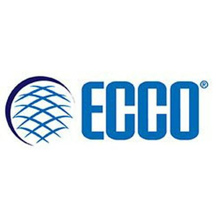 ECCO (6465C) LED Beacon: Low profile, 12-80VDC, pulse8 flash, clear