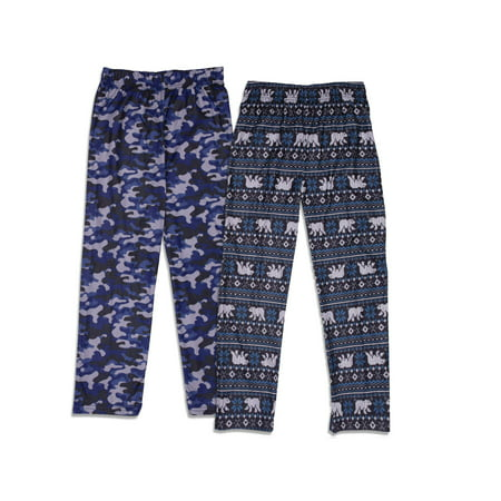 How Boys Sleep (Sleep On It 2-Pack Sleep Pajama Pants (Little Boys and Big)