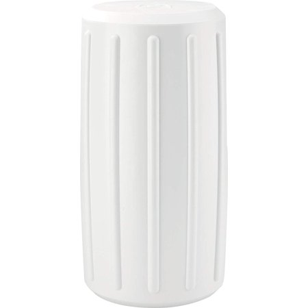 White 93534-1 Corner Dock Fender Round, Molded from soft, lightweight material that's easy on your boat By - Fender Material