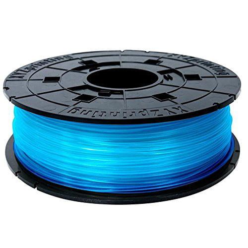 XYZprinting PLA Filament for Jr. and Mini Series Clear Blue 68.9 mil Filament RFPLCXUS05C