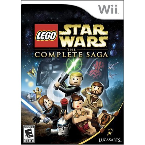 Wii - Lego Star Wars The Complete Saga