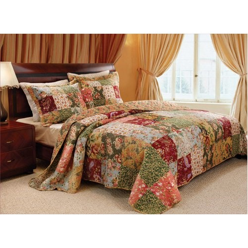 Greenland Home Fashions Antique Chic Bedspread Set, King