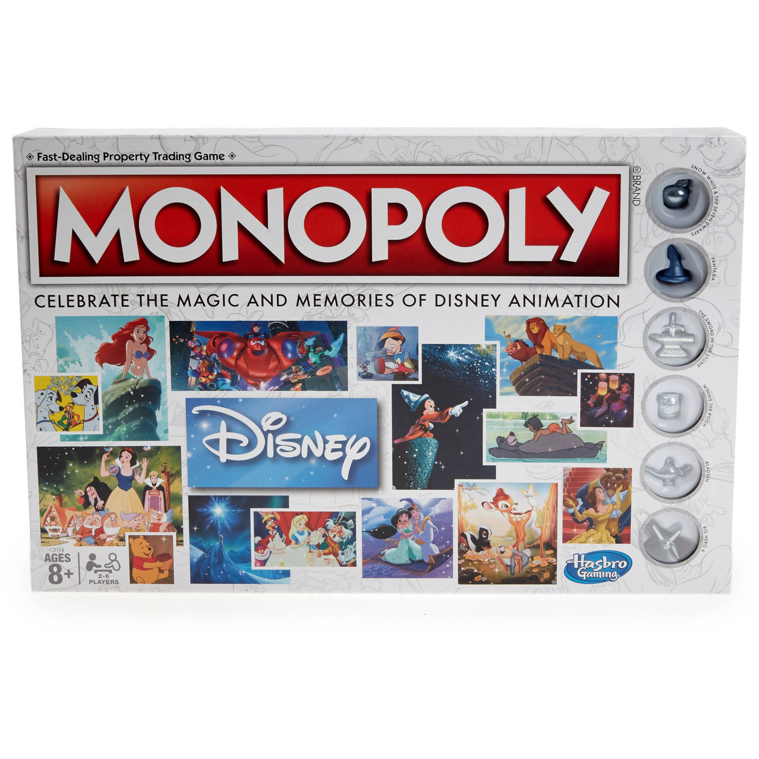 Monopoly: Disney Animation Edition
