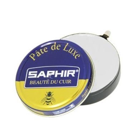 High Polished - Beaute Du Cuir Pate De Luxe High Gloss Neutral Shoe Polish 50ml, The Pate de Luxe Saphir, is a very nourishing traditional polish, based on beeswax and carnauba (.., By Saphir