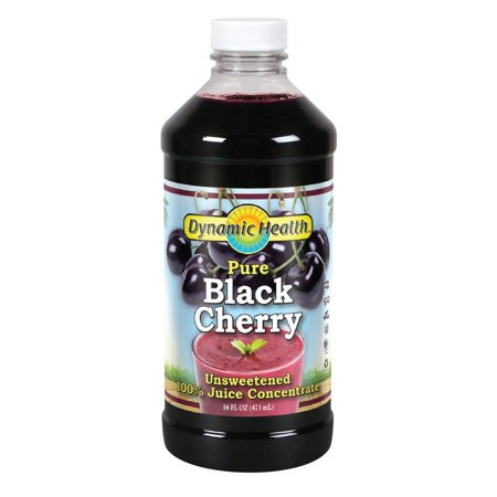 100% Pure Black Cherry Juice Concentrate | No Additives | Antioxidant | Urinary Tract & Joint Support | 16 Servings (Packaging Varies), 100% PURE: Great nutrition w/out.., By Dynamic (Health Support Rejuvenade Juices)