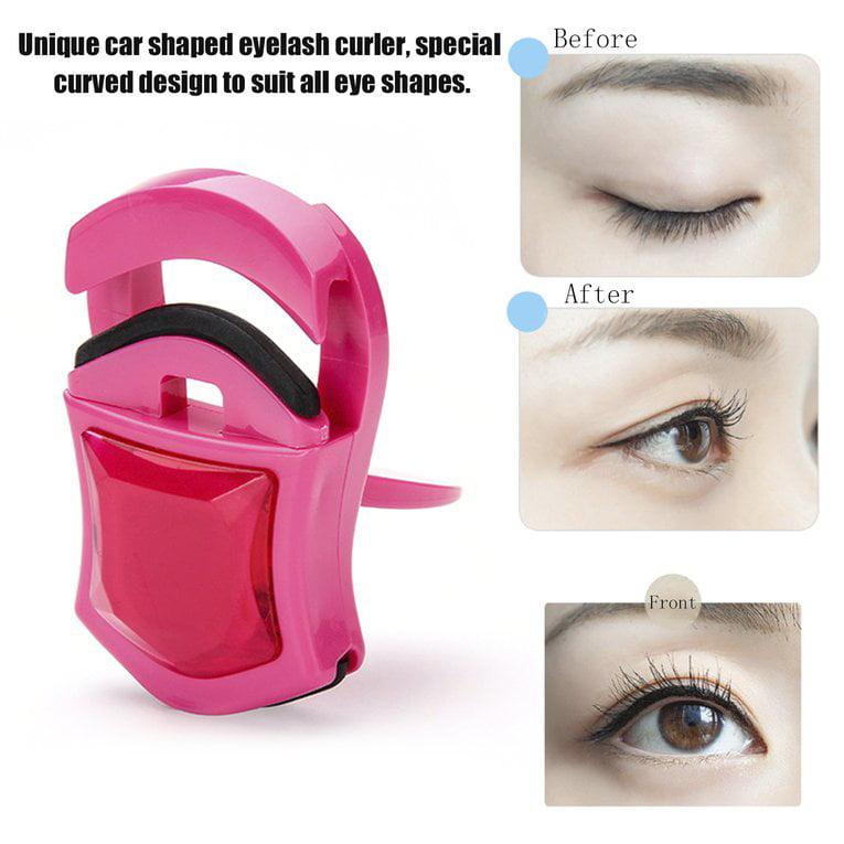 Car Shaped Portable Mini Eyelash Curler Lady Women Nature Curl Lovely Style Curl Eyelash Beauty Tools Cosmetic