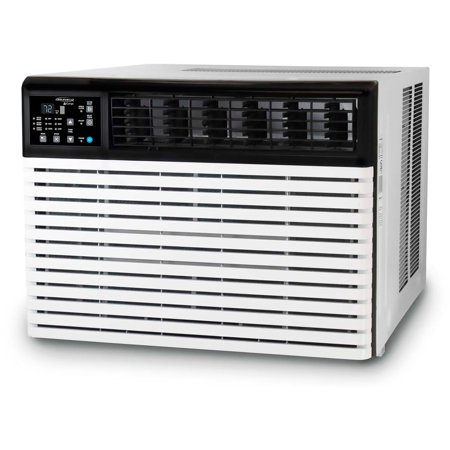 - SoleusAir Energy Star 24,000 BTU 230V Window-Mounted Air Conditioner with LCD Remote Control