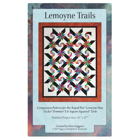 Lemoyne Trails Quilt Pattern by Pam Goggans - Sager Creek Quilt & - Halloween Quilt Patterns