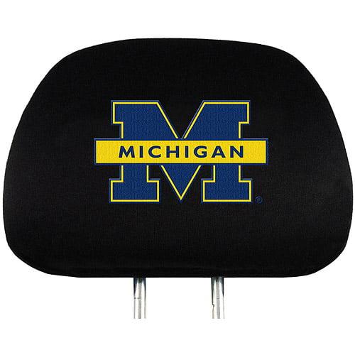 Michigan NCAA Head Rest Cover