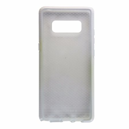 sports shoes cb496 ed146 Tech21 Evo Check Series Flexible Gel Case Cover for Galaxy Note 8 -  Clear/White