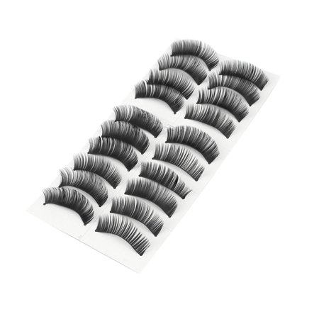 Long Thick False Eyelashes Fake Lashes Extension 10 Pairs](Fake Halloween Eyelashes)