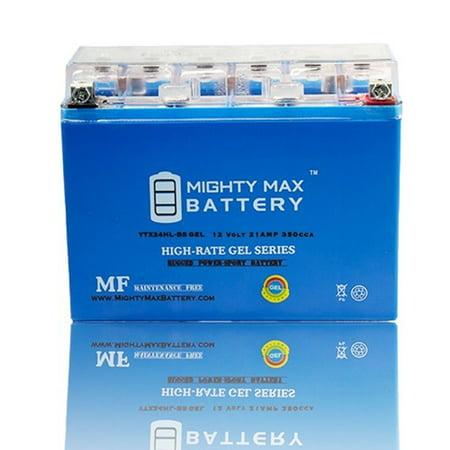 YTX24HL-BS GEL Battery for Harley FL Honda Goldwing Yamaha Indian