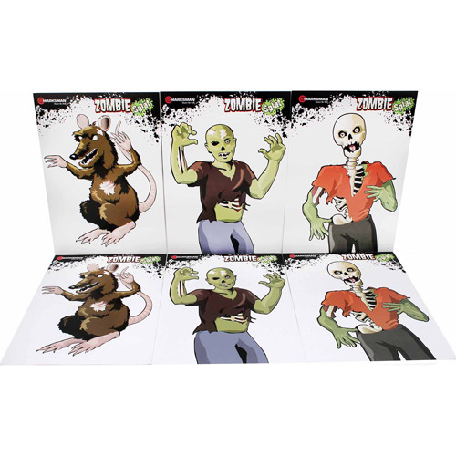 Marksman Zombie Paper Targets
