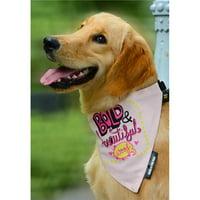 Heads Up for Tails HUFTAC031 Bold & Beautiful Dog Bandana, Large