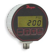 DWYER INSTRUMENTS Digital Gauge/Transmitter,50 PSI DPG-204