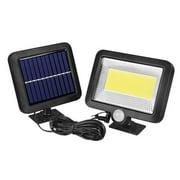 100COB Solar Energy Wall Mounted Night Lamp Motion Light Sensor Outdoor Waterproof Garden Light