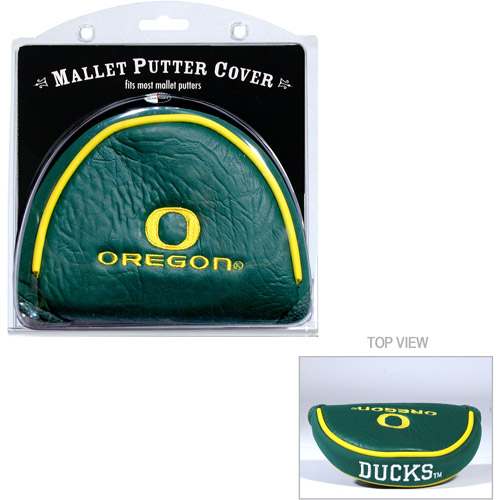 Team Golf NCAA Oregon Golf Mallet Putter Cover
