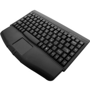 Adesso Mini USB Touchpad Keyboard, Black