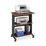 Safco, SAF1881CY, Muv Three Level Adjustable Printer Stand, 1 Each, Cherry
