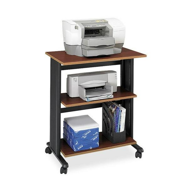 Safco, SAF1881CY, Muv Three Level Adjustable Printer Stand, 1 Each, Cherry