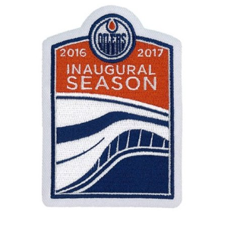 2016 Official Edmonton Oilers Inaugural Season At Rogers Place Jersey (Reebok Edmonton Oilers Patch)