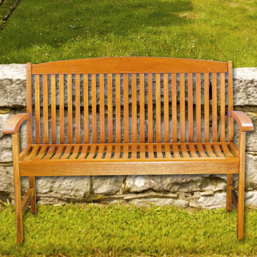 August Grove Anmoore 4' Classic Slat Bench