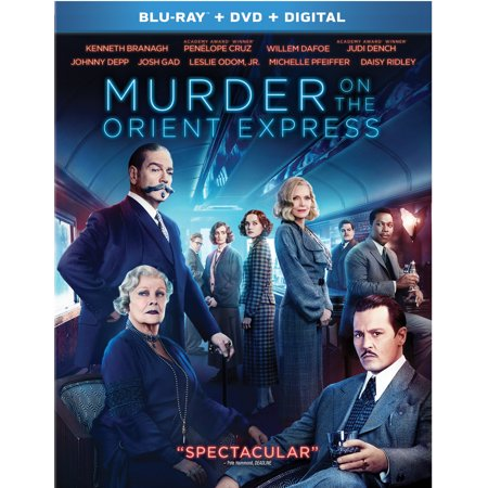 Murder On The Orient Express (Blu-ray + DVD + Digital)
