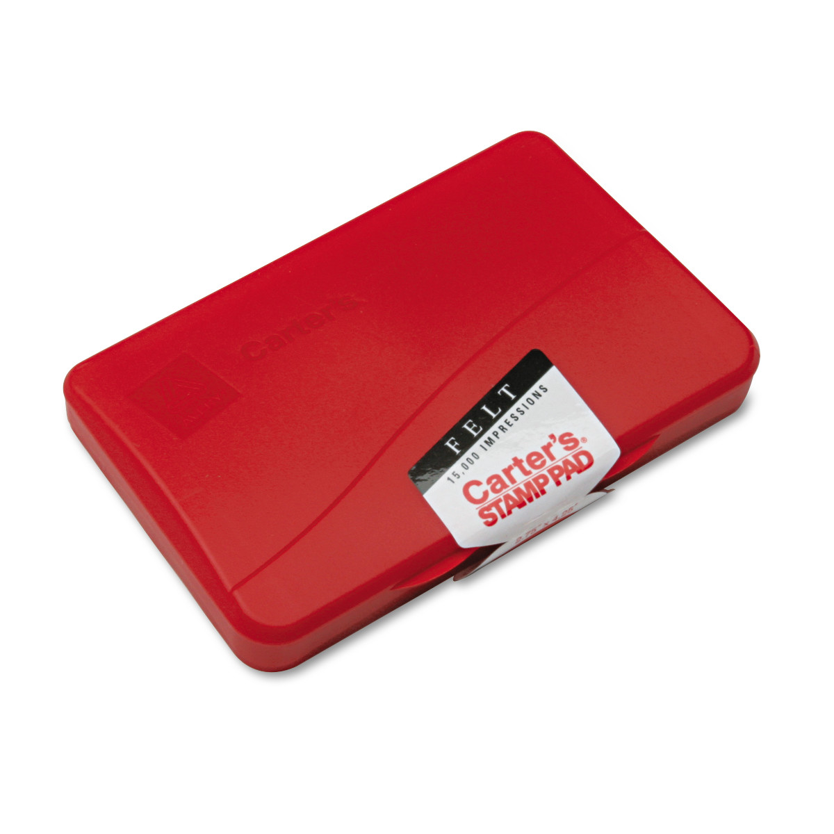 Carter's Carter's Felt Stamp Pad, 4 1 4 x 2 3 4, Red by AVERY-DENNISON